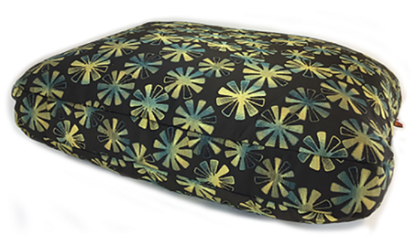 Power Flower - washable, durable pet bed. Made in USA