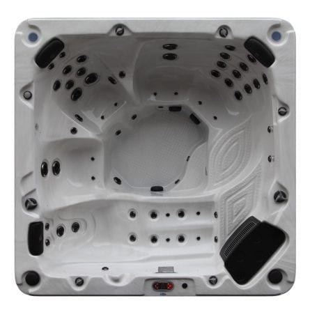 Niagara 60-Jet 7 Person Hot Tub with LED Lighting and Pop-up Speakers