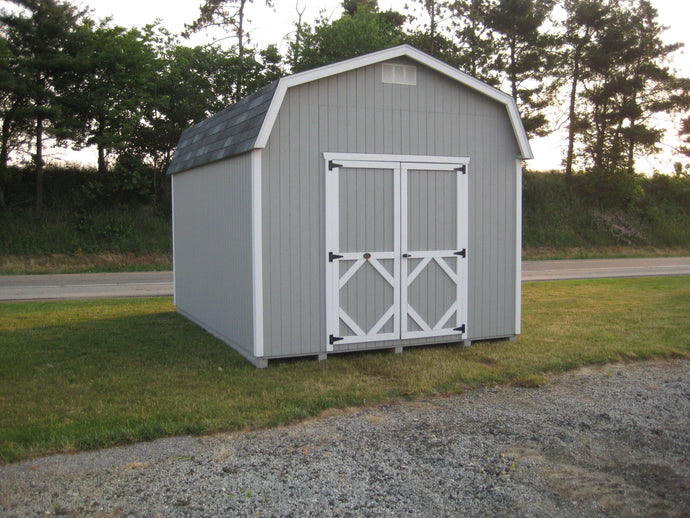 Classic Gambrel Barn 6' Sidewalls- Panelized Kit