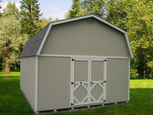 Classic Gambrel Large Barn - Panelized DIY Kit