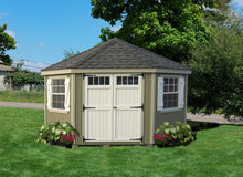 Colonial Five Corner Shed - Panelized Kit