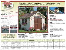 Colonial Williamsburg - Panelized Kit