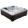 Canadian Spa Co Alberta 6-Person 57-Jet Tub LED Water Fall & Bluetooth