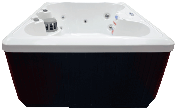 ... HB14 4 Person 14 Stainless Steel Jets Plug And Play Spa With Backlit  Waterfall ...