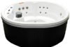 Hudson Bay Spa HB21O 5-Person 21 Jets Spa Backlit Waterfall LED Lights