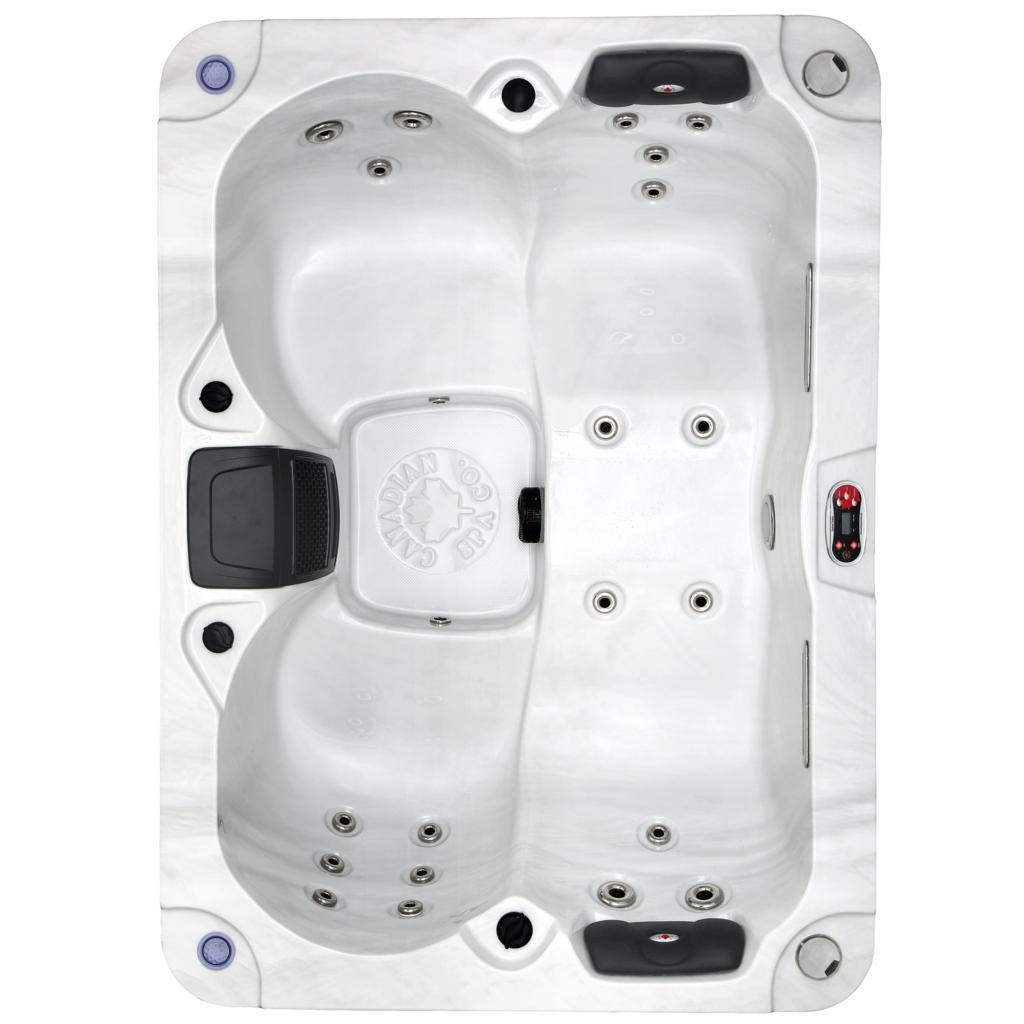 Kelowna Double Lounger 4 Person Plug & Play MP3 Bluetooth Hot Tub