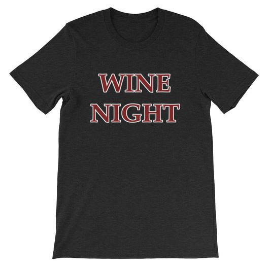Wine Night Short-Sleeve Women's T-Shirt