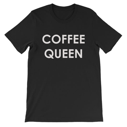 Coffee Queen Short-Sleeve Women's T-Shirt