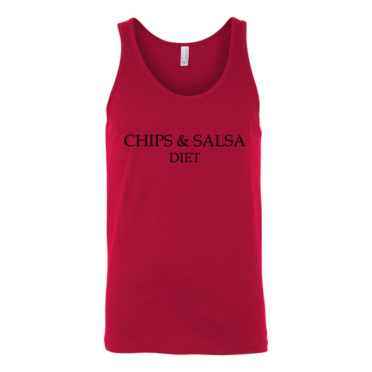 Chips & Salsa Diet Canvas Tank