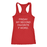 Friday F Word Womens' Racerback Tank