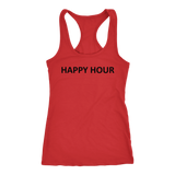 Happy Hour Womens' Racerback Tank