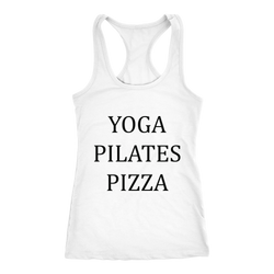 Yoga Pilates Pizza Women's Tank