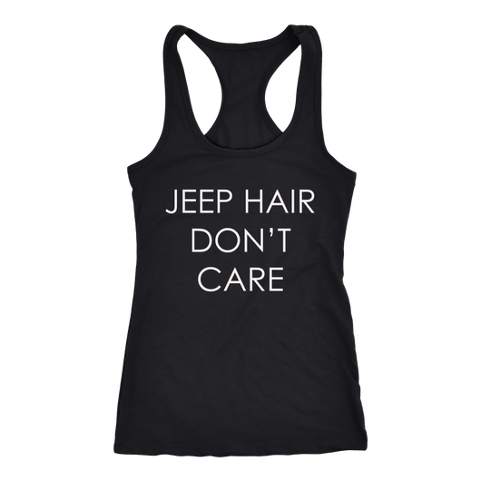 Jeep Hair Womens' Racerback Tank