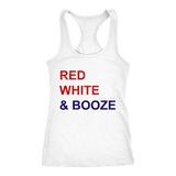 Red White and Booze Women's Tank