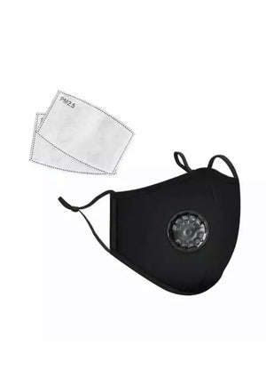 Washable Face Protection Mask with Filter