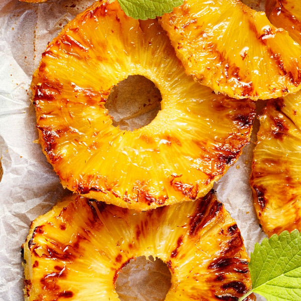 Pineapple Steak with Sugar & Cinnamon