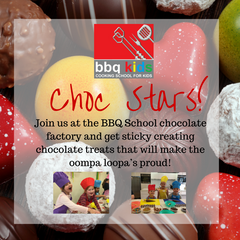Kids Cooking Classes - Chocolate Stars
