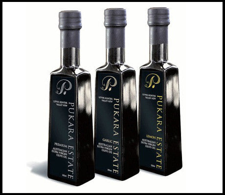 Pukara Olive Oils - Chilli, Garlic or Lime