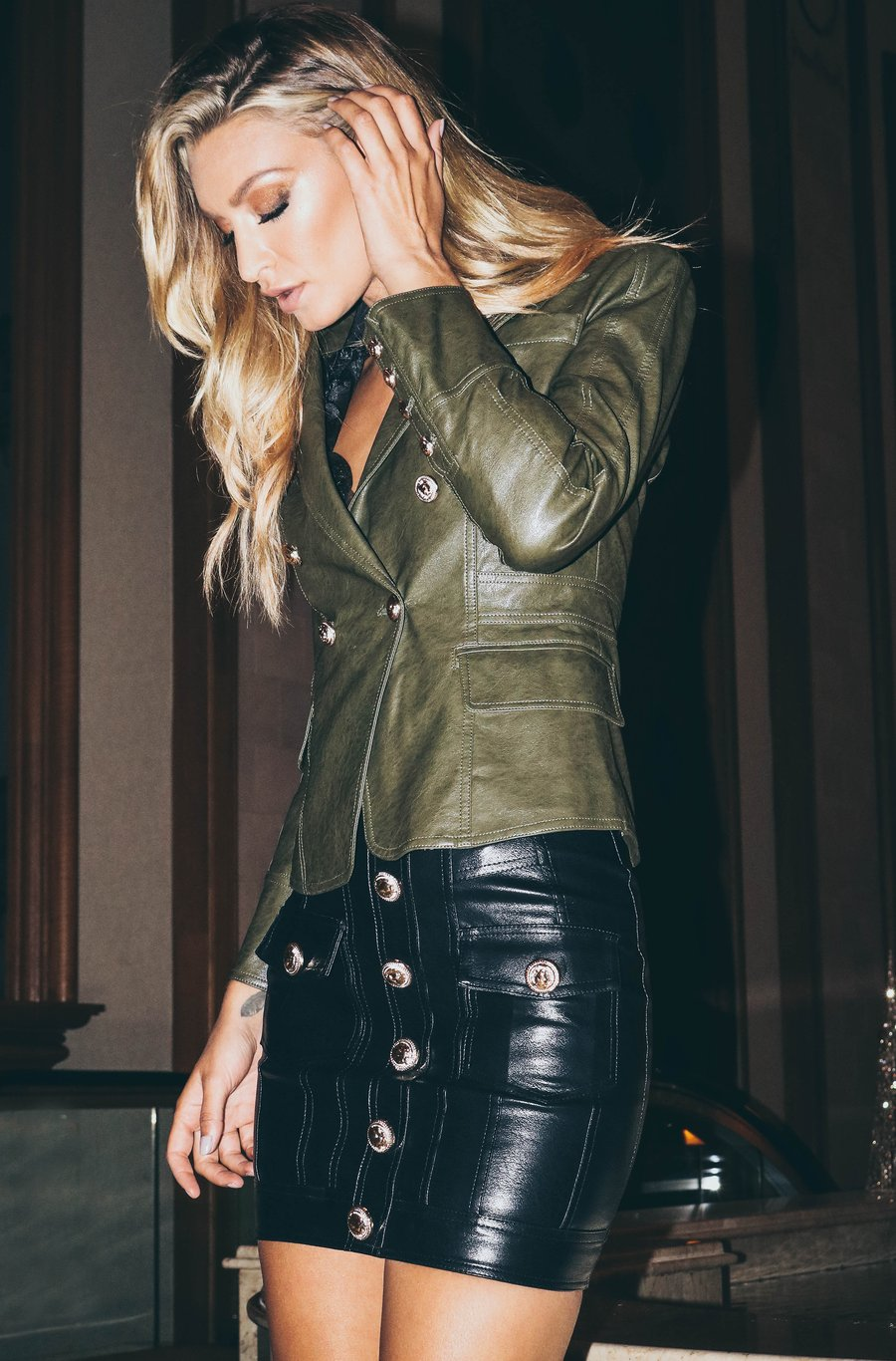 No Excuse Blazer - Olive
