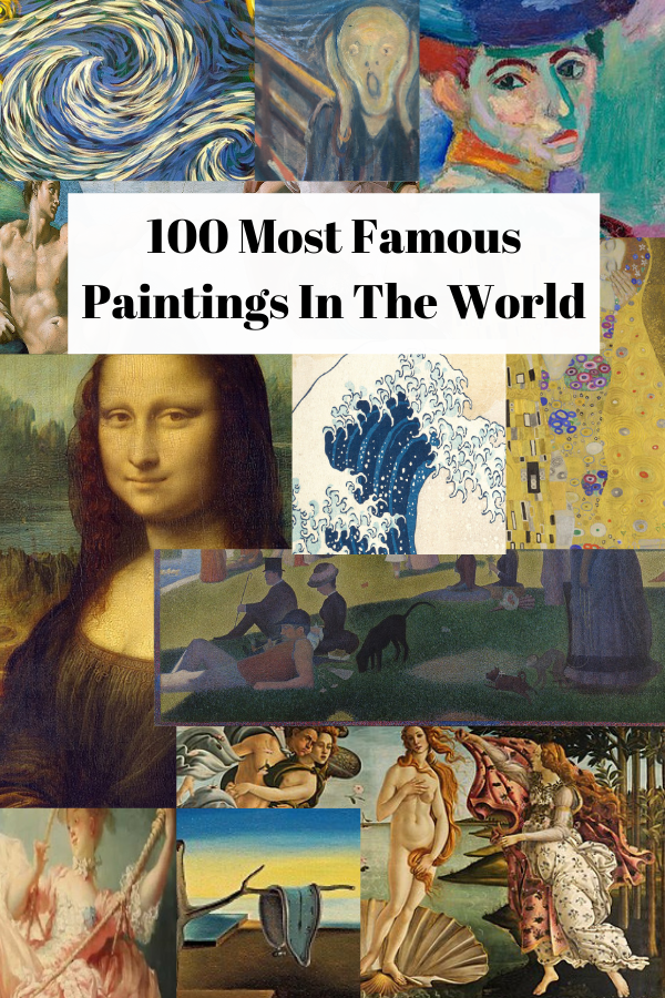 100 Most Famous Paintings In The World [Masterpieces Of Art]