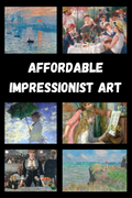 Affordable Impressionist Art