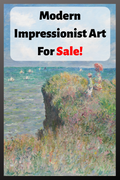 Modern Impressionist Art For Sale!