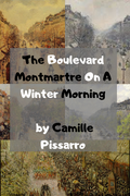 The Boulevard Montmartre On A Winter Morning (Camille)