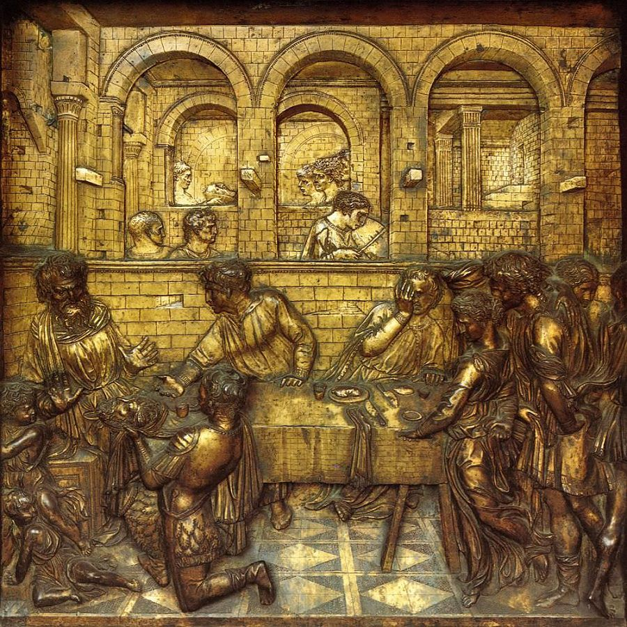 The Feast Of Herod by Donatello
