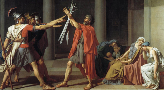 The Oath Of The Horatii [Jacques-Louis David Art Facts]