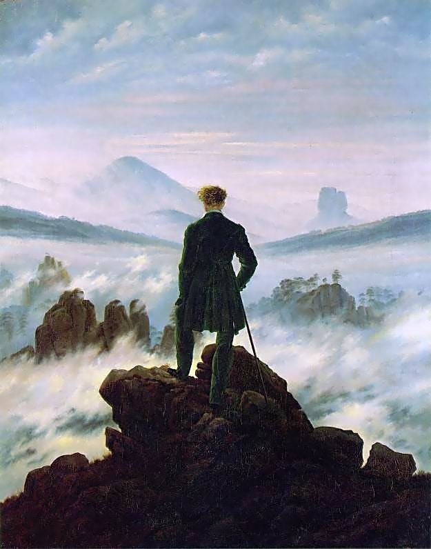 Wanderer Above The Sea Of Fog Analysis