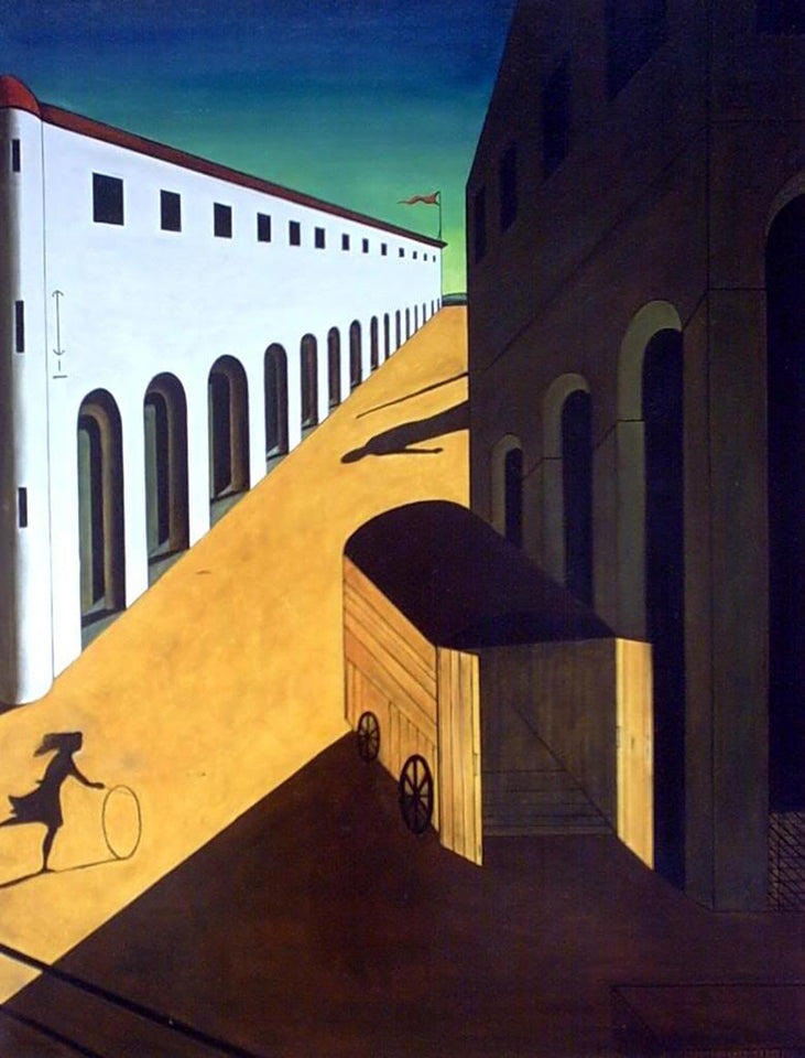 "Giorgio De Chirico ""Mystery And Melancholy Of A Street"""