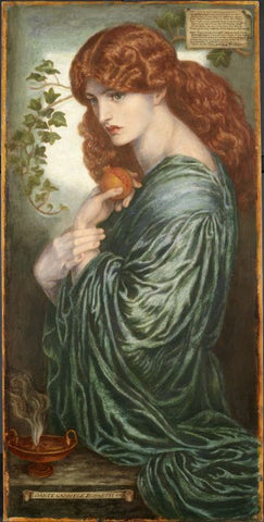 Rossetti's eighth and final version of Proserpine