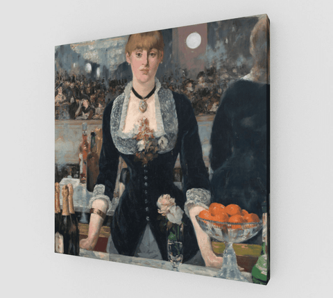 A Bar At The Folies-Bergère Painting by Édouard Manet