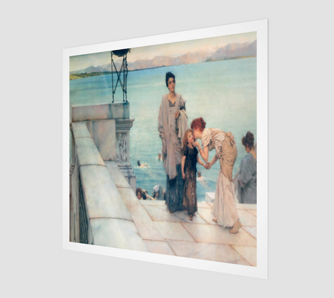 A Kiss Painting by Lawrence Alma Tadema