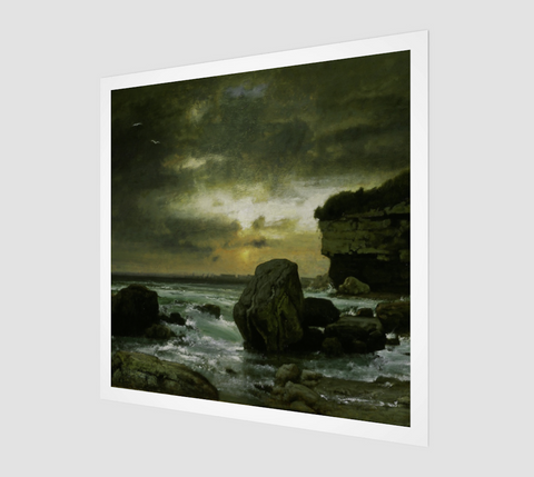 A Marine Painting by George Inness