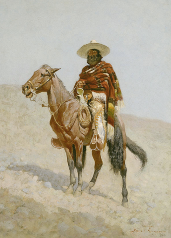 A Mexican Vaquero by Frederic Remington