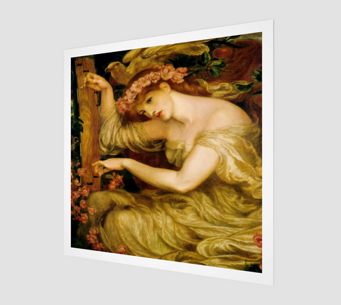 A Sea-Spell Painting by Dante Gabriel Rossetti