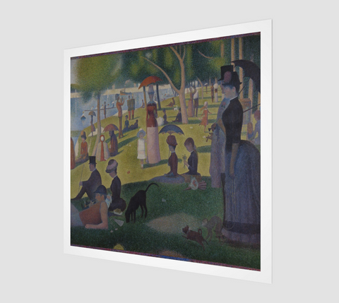 A Sunday Afternoon on the Island of La Grande Jatte Painting by Georges Seurat