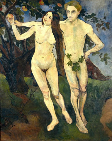 Adam and Eve Painting By Suzanne Valadon