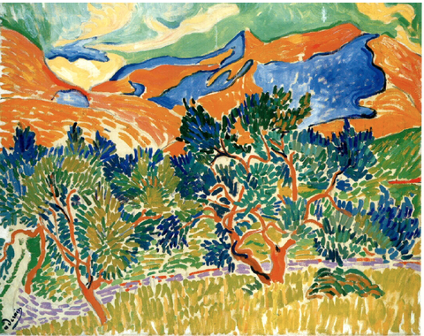 Mountains At Collioure by Andre Derain