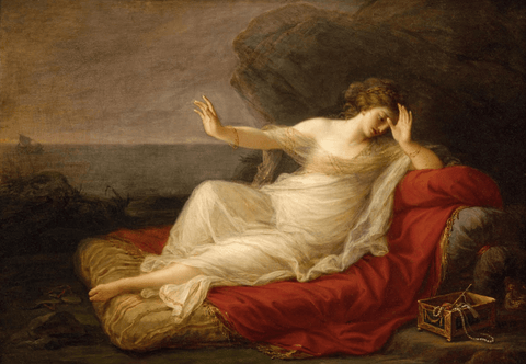 Ariadne Abandoned by Theseus Painting