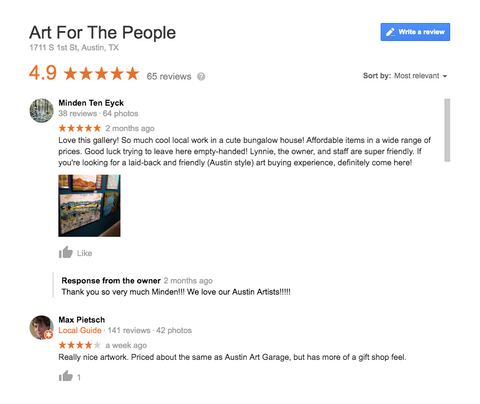 Art For The People Review