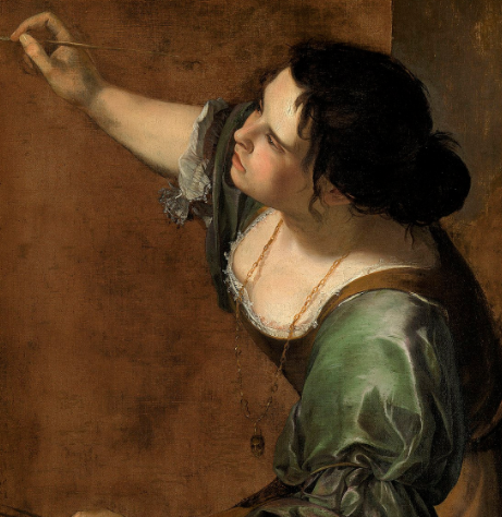 Artemisia Gentileschi Self Portrait as the Allegory of Painting