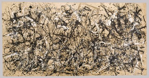 Autumn Rhythm (Number 30) by Jackson Pollock