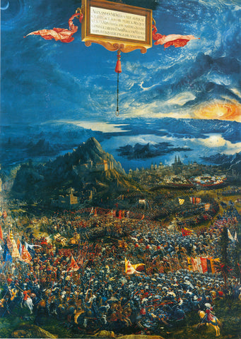 Battle Of Issus by Albrecht Altdorfer