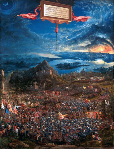 Buy The Battle of Alexander at Issus - Altdorfer Albrecht Art For Sale