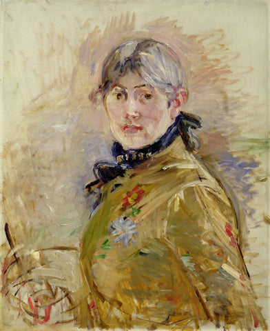 Berthe Morisot Self Portrait