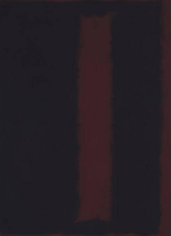 Black on Maroon by Mark Rothko