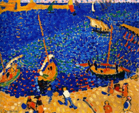 Boats at Collioure by André Derain