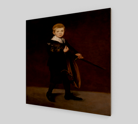 Boy Carrying a Sword by Édouard Manet